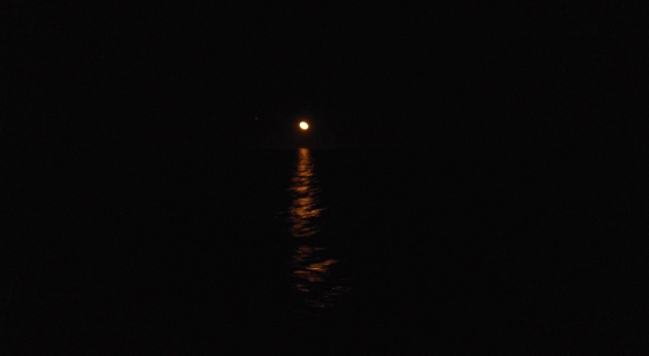 Moon over Sea of Cortez