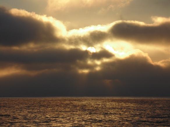 Sunrise in the Sea of Cortez
