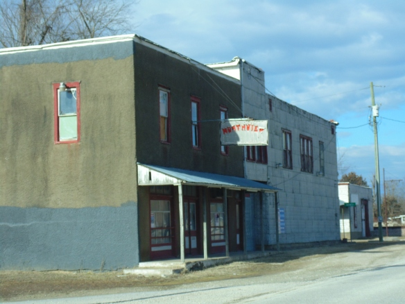 Old building.  Northview, Missouri